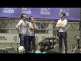 """New """"Something Rotten!"""" Cast Members Catch Some Rays at Broadway in Bryant Park"""