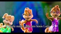(11)Laila Main Laila Video dance Chipmunks with Lyrics - Raees - Shah Rukh Khan & Sunny Leone - YouTube