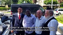 Meet TB Joshua In NAZARETH ISRAEL!!! - video dailymotion