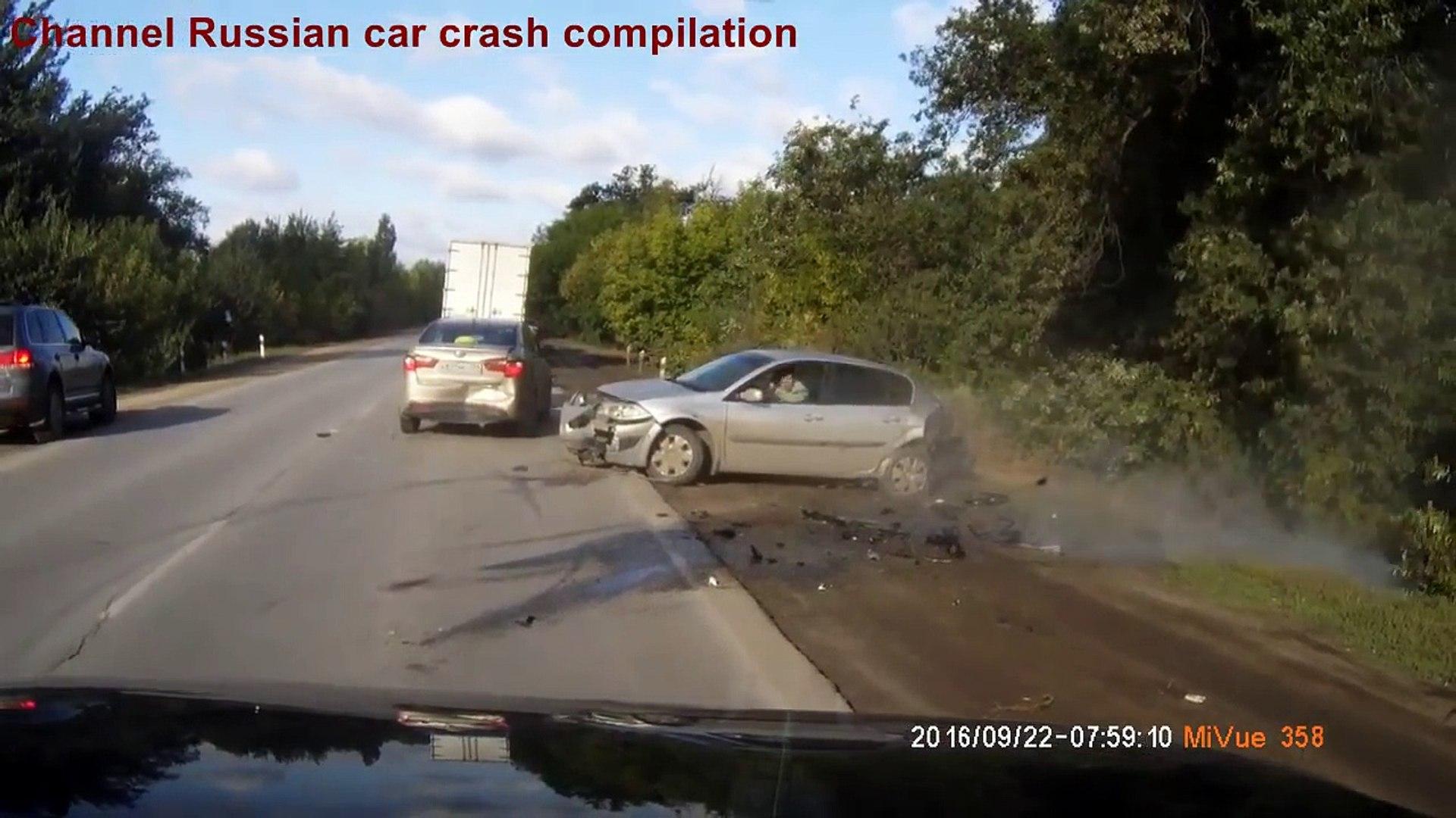 Russian Car crash compilation September part 4