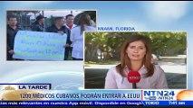 Al menos 1.200 médicos cubanos podrían entrar a EE. UU., tras derogación de 'pies secos/pies mojados'