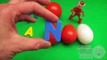 Kinder Surprise Egg Learn A Word! Spelling Holiday and Christmas Words! Lesson 18