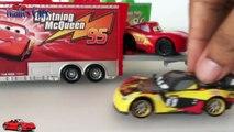 Disney Pixar Cars Truck Carry Case Disney Cars 2 Lightning McQueen Toys from Disney Pixar Cars