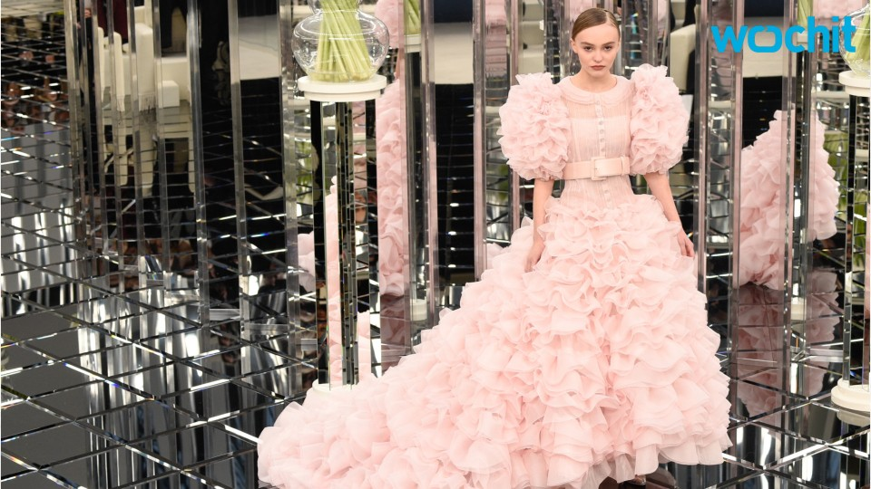 Lily-Rose Depp Make Her Runway Debut At Chanel Fashion Show