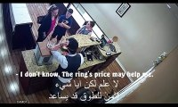 What This II Arabic Guy Did With An American Lady Inside A Store II Who Came To Sell Her Gold Chains - Will Surprise You