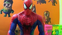 X Kids Spiderman vs Venom, SPIDER MAN The Amazing Spider Man 2 Toys