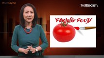 #JUSTSAYING: The Business of Faking Food