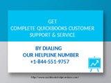 Support Number for QuickBooks Error @  +1-844-551-9757