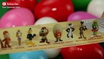 Looney Tunes Collector Surprise eggs Road Runner, Daffy Duck, Tasmanian Devil, Sylvester, Bugs Bunny