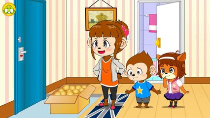 KEBI Safety Education #10 - Looking after a house!! [KEBIKIDS]