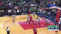 NBA 2016-17 Washington Wizards 123-108 Boston Celtics - Highlights - January 24, 2017 NBA