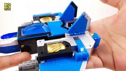 숫자가 변신한다! 파이브 에어마스터 숫자 로봇 거대로봇 5단 변신 합체 동영상 Numbers robot Transformers toy moive