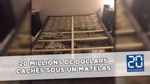 20 millions de dollars retrouvés cachés sous un matelas à Boston