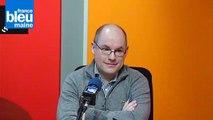 Nicolas Simon, directeur délégué territorial Nord Sarthe et Le Mans de Pôle Emploi