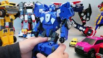 Toy Shooting Car Robot Transformers Tayo Bus English Learn Numbers Colors Toy Surprise YouTube