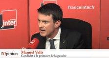 Manuel Valls : «S'il y en a un qui n'a pas respecté les règles de la majorité, c'est Benoît Hamon»