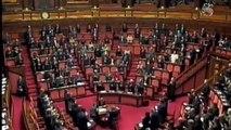Valanga Rigopiano, Senato in piedi con Gentiloni per le vittime