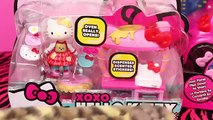 Hello Kitty Toys DisneyCarToys Dance Party Limo Bee Rosy Hello Kitty Cafe Toy Review