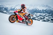 Moto GP World Champ Heads To The Alps | Marc Márquez Show Run | Skuff TV Bike