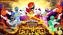 Power Rangers Dino Charge - Power Rangers Super Megaforce Legacy Game Compilation