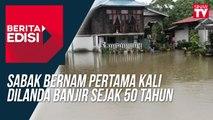 Sabak Bernam pertama kali dilanda banjir sejak 50 tahun