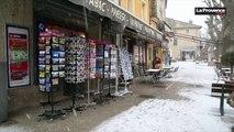 Il neige à Bedoin (84)