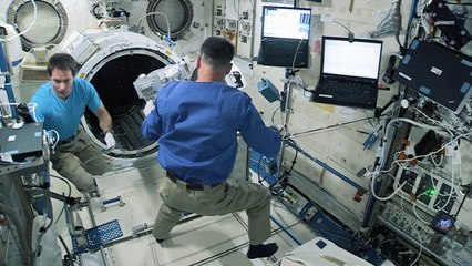 Launching satellites from Space Station – step one