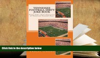 Audiobook  Tennessee Football Dirty Joke Book: Funny Jokes about University of Tennessee Football