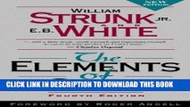 Ebook The Elements of Style, Fourth Edition Free Read