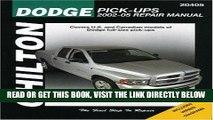 [FREE] EBOOK Dodge Pick-ups: 2002 through 2005 (Haynes Repair Manual) ONLINE COLLECTION