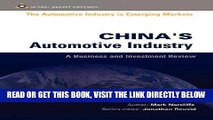 [READ] EBOOK CHINAS AUTOMOTIVE INDUSTRY (Automotive Industry in Emerging Markets S.) BEST COLLECTION