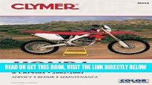 [FREE] EBOOK Honda  CRF250R (2004), CRF250X (2004) AND CRF450R 2002-2004 (Clymer Motorcycle