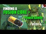 Fallout 4 - How to find a FUSION CORE for first Power Armor (Fusion Core + Power Armor Location)