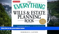 READ NOW  The Everything Wills   Estate Planning Book: Professional advice to safeguard your