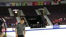 Yuzuru Hanyu 2016 Skate Canada practice 2016-10-29 - FS