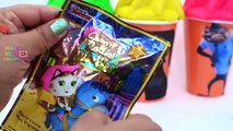 Hotel Transylvania 2 Play doh surprise ice cream inside out shopkins 3 Peppa pig Sheriffs callie