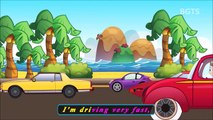 New Rhymes Songs Collection with Lyrics Wheels on the Bus Cartoon Compilation School & Family Fun