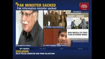 PM Nawaz Removed Pervaiz Rasheed on leaking Reports On Pak Army-Govt Rift-Indian Media reporting