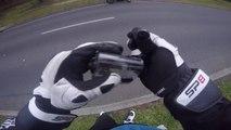Perdre sa caméra embarqué pendant un trajet à moto