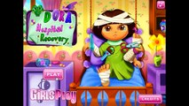 Cartoon game. Dora The Explorer - Hospital Recovery. Full Episodes in English new