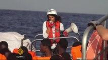 Mediterranean crossings: Volunteers work to save lives