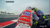 Valentino Rossi Kissing Dovizioso After Race Motogp Sepang Malaysia 2016