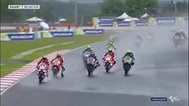Amazing Valentino Rossi Overtake From 5th to 2nd Motogp Sepang Malaysia 2016