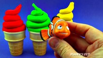 Learning Colors with Play Doh Ice Cream Cone Surprise Toys for Children Peppa Pig Thomas & Friends-kids toys