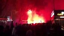 Avant OM-Bordeaux, l'ambiance est déjà chaude aux abords du Stade-Vélodrome
