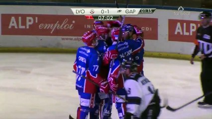 Saxoprint Ligue Magnus : LHC Les Lions vs Les rapaces de Gap