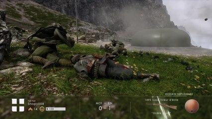 (thegamer) Battlefield™ 1 mode conquête map monte grappa