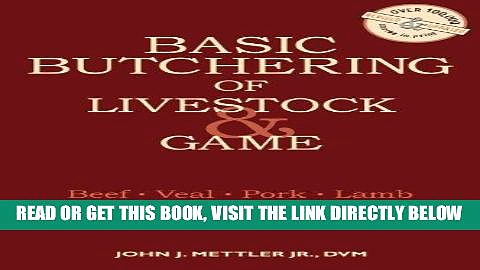 [PDF] Basic Butchering of Livestock   Game Popular Online