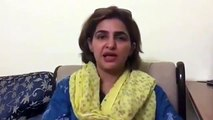 PTI Woman Mouth Breaking Reply to Chaudhry Nisar