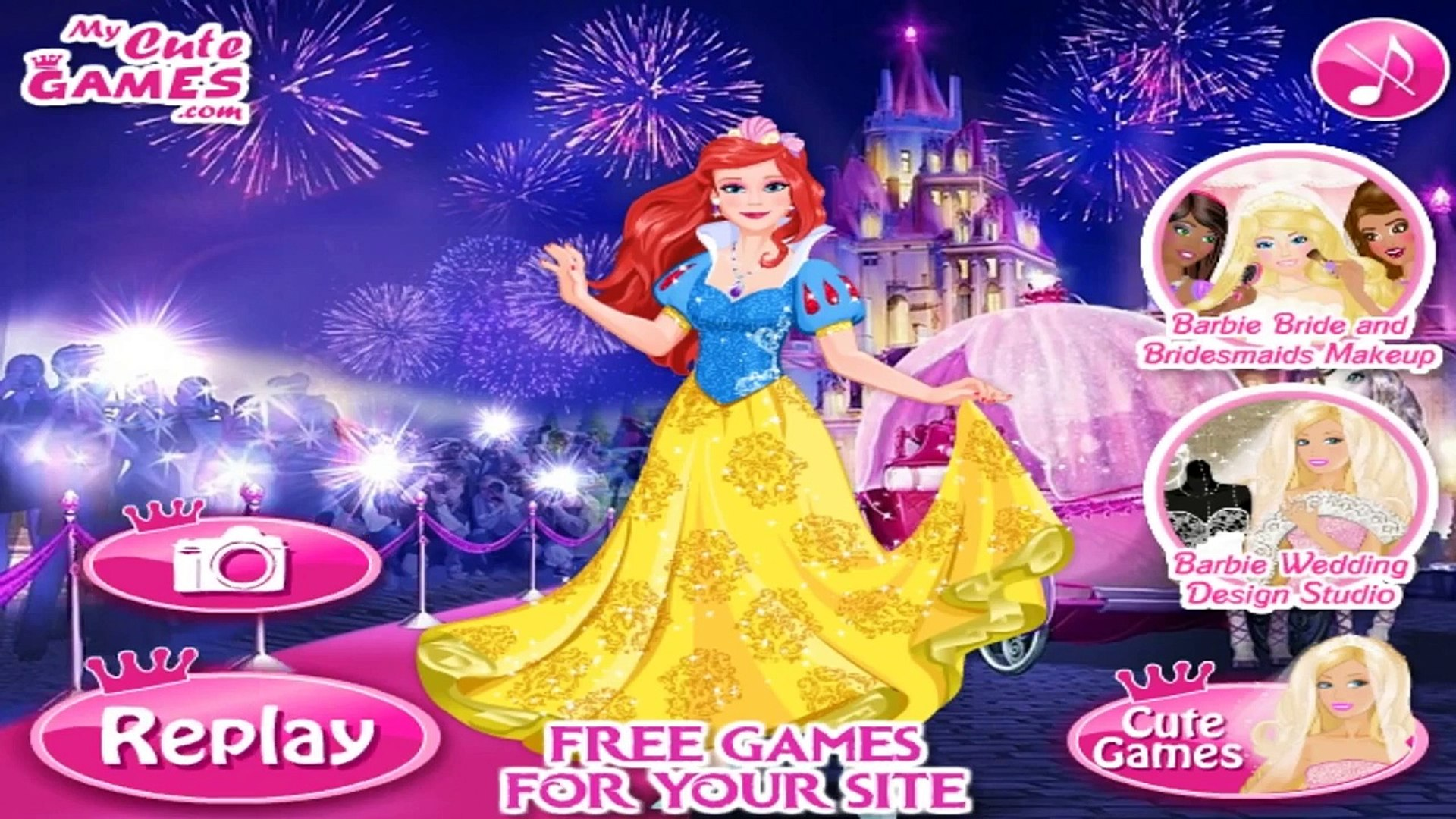 Barbie Disney Princess - Barbie Games